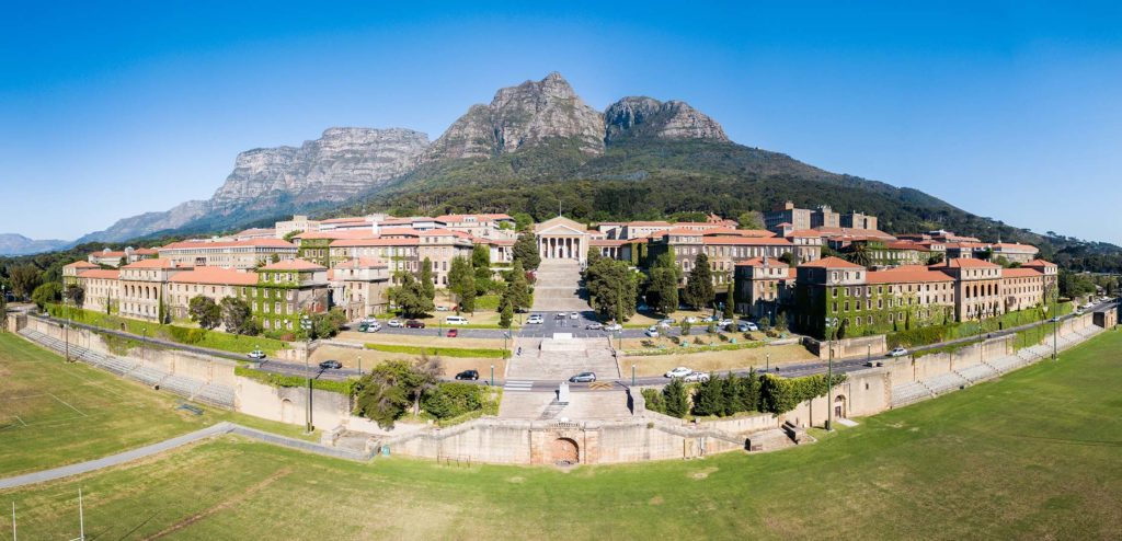 Panoramic image of University of Cape Town Upper Campus - Tinotenda-Chemvura