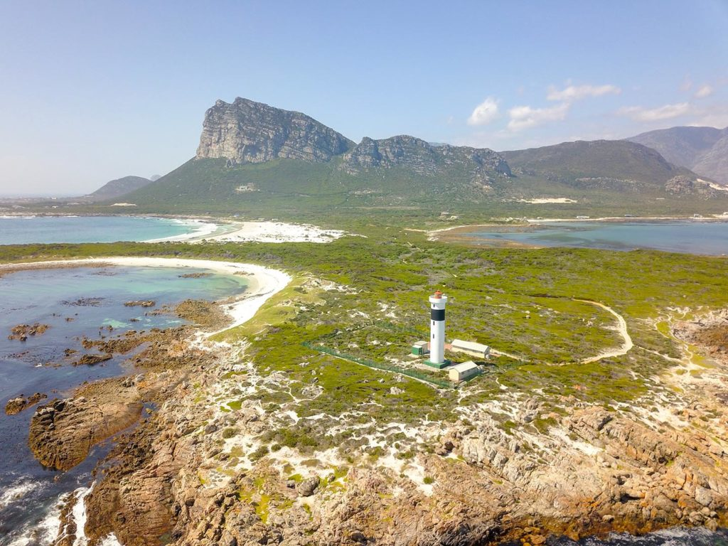 Drone Photograph of Cape Hangklip Lighthouse - Tinotenda Chemvura